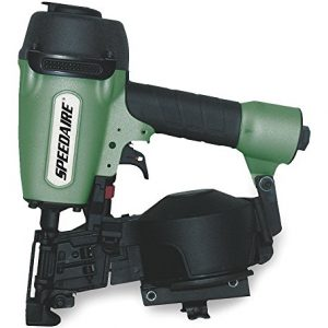 Air Roofing Nailer, Full Rnd, 15 Deg, Wire
